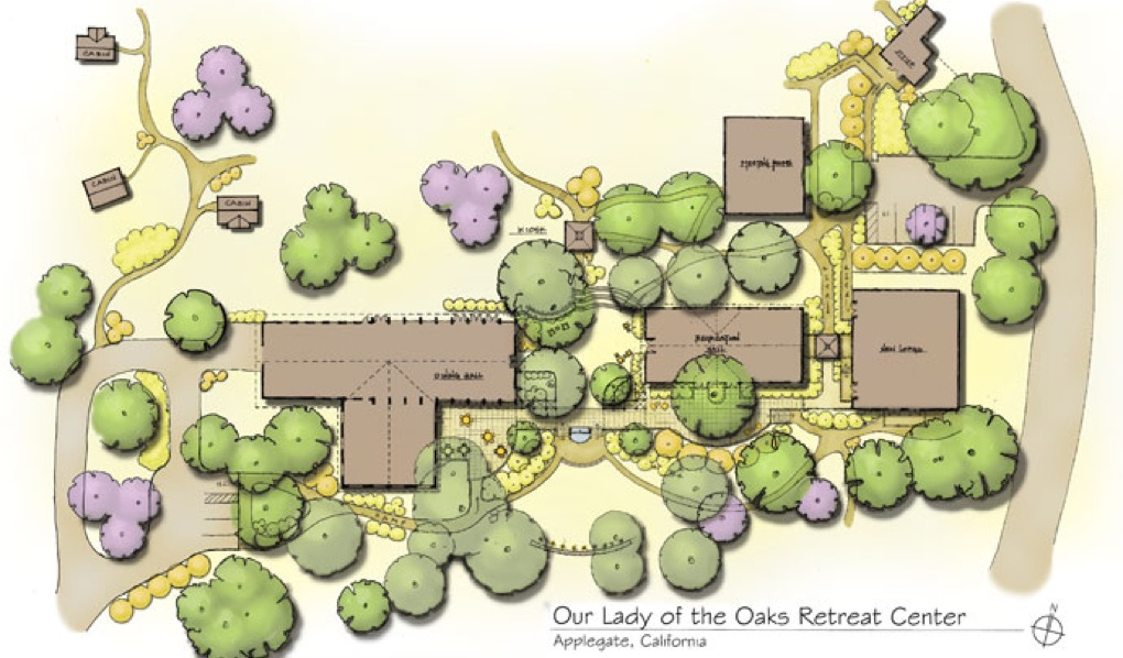 retreat center architectural planning masterplan