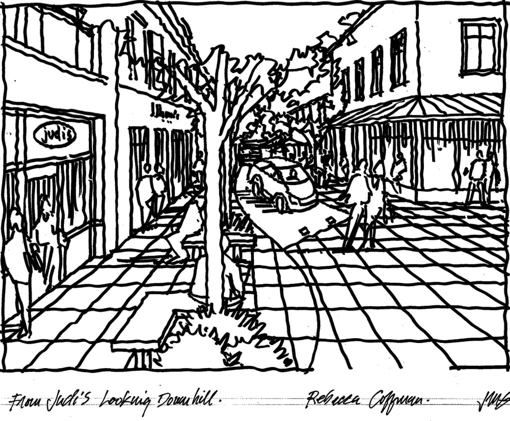 Commercial Street, Nevada City CA, Planning Architect