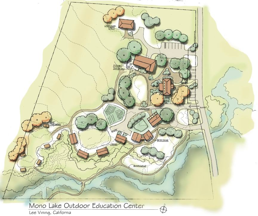 Outdoor Learning Center, Mono Lake, Planning Architect