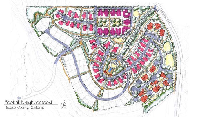 Foothill Neighborhood, Nevada County, Planning Architect