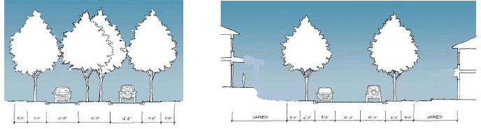 california foothill neighborhood planning collage