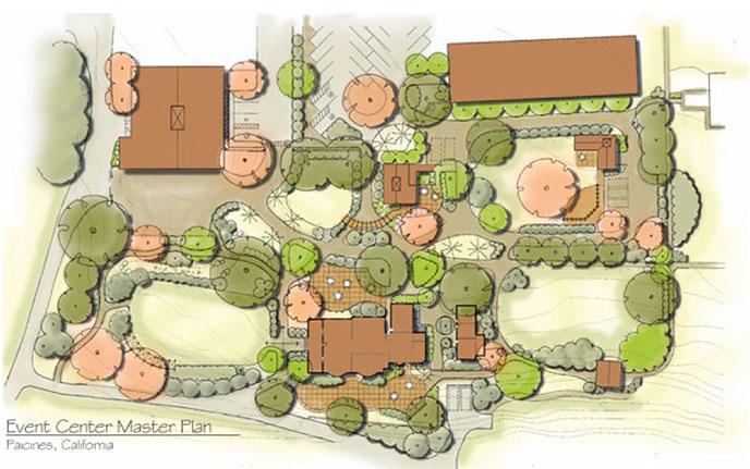 paicines ranch architecture masterplan