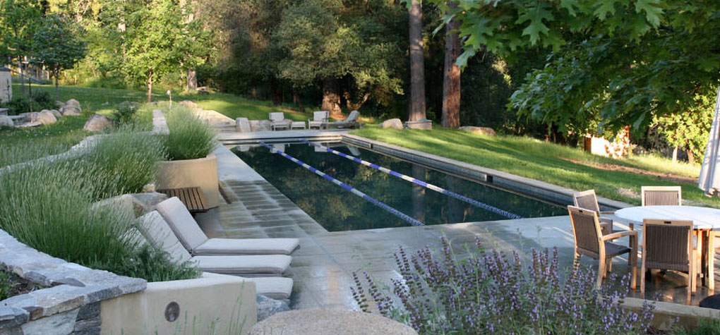 foothill landscaping pool image